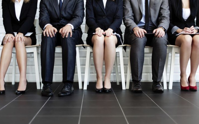 People waiting for job interview    source