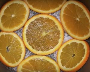 gâteau à l'orange à l'autocuiseur