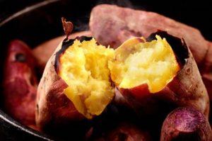 Nourriture japonaise - patate douce